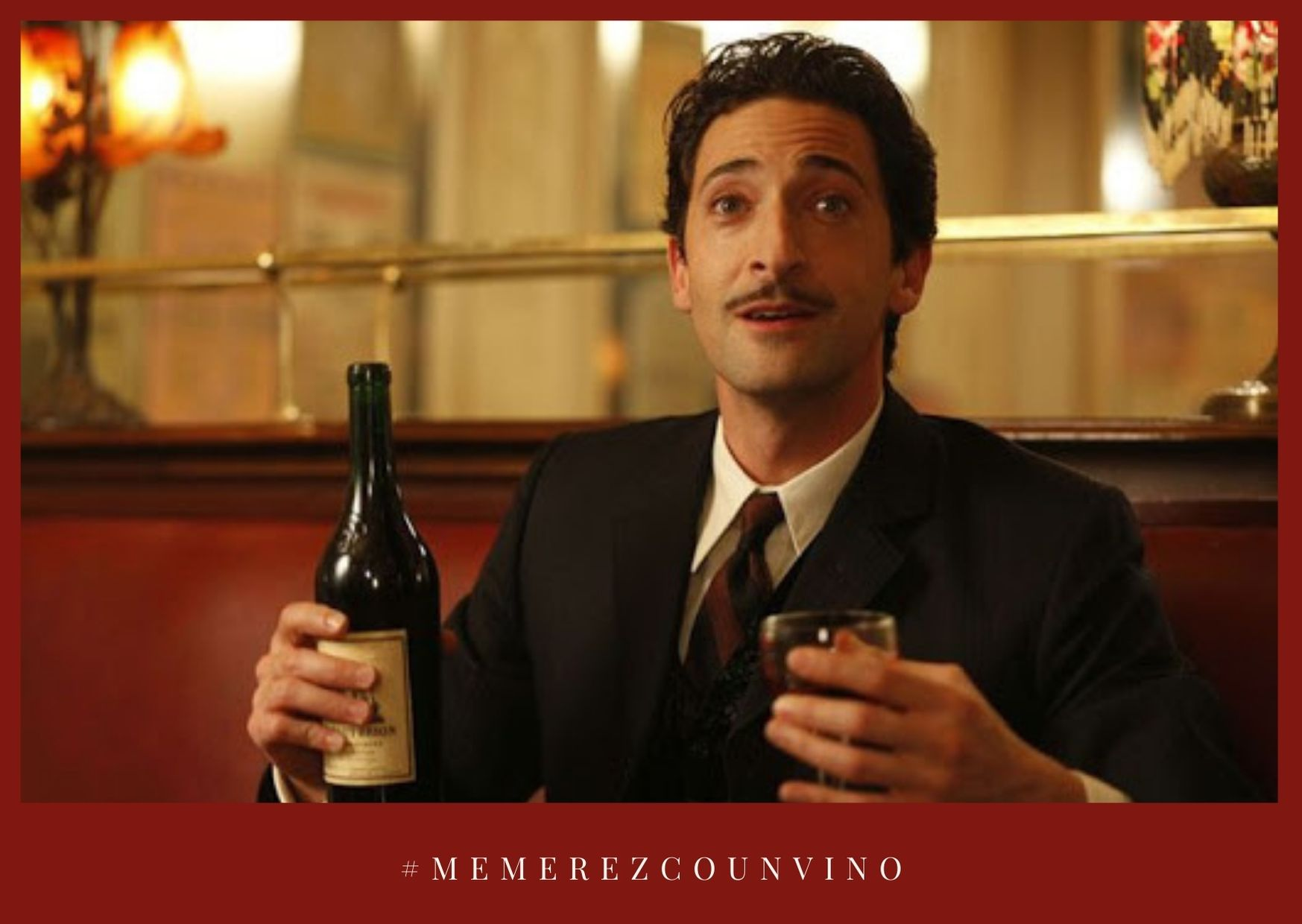 Un copa de vino al día